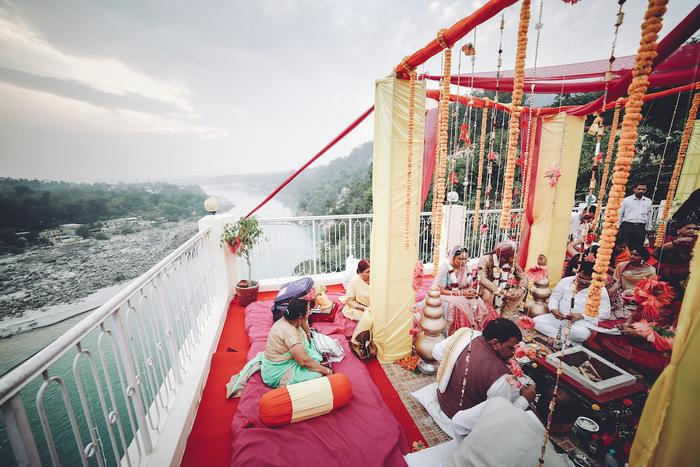 Destination wedding rishikesh
