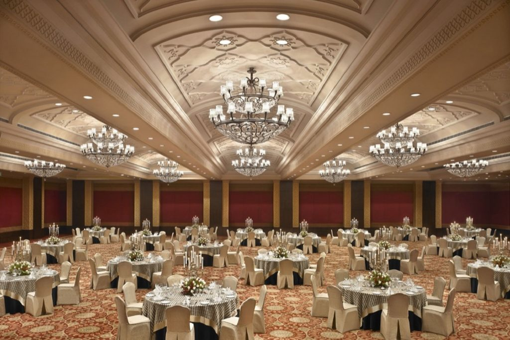 Luxurious Darbar Hall for Events at Taj Palace