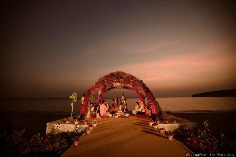 destination wedding in india on