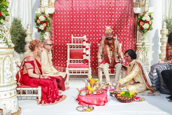 indian wedding preparation