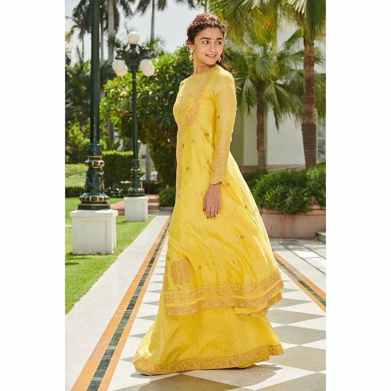 Alia in yellow