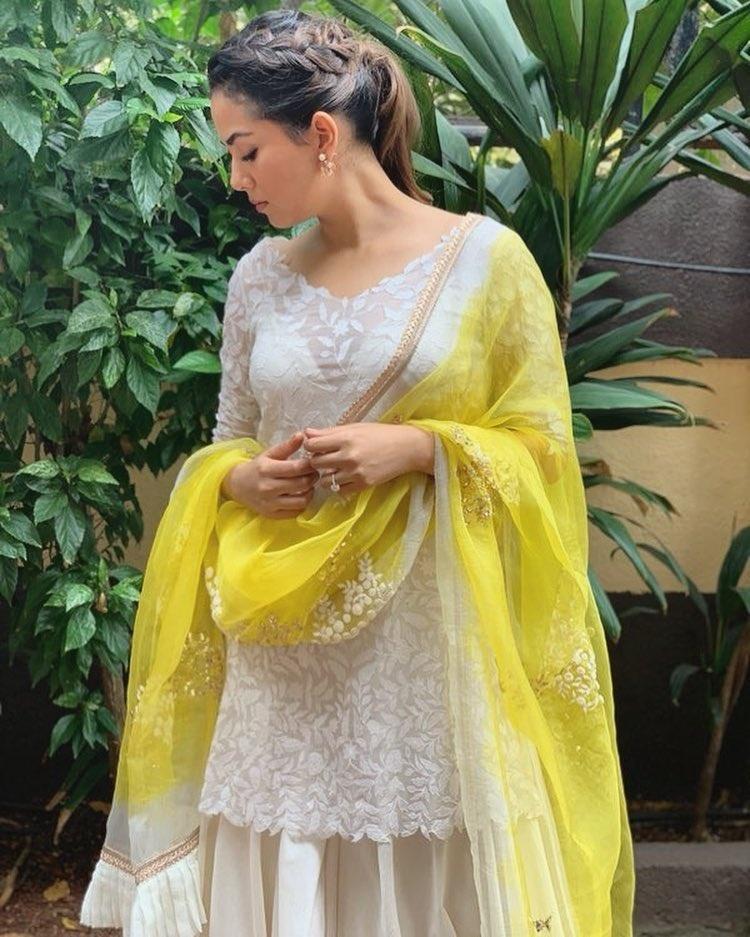 mira yellow and white