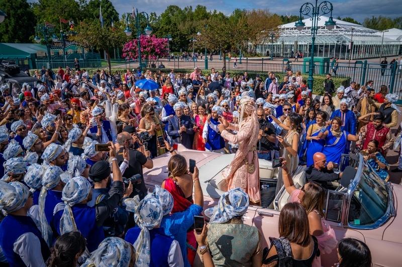 Disneyland wedding 9