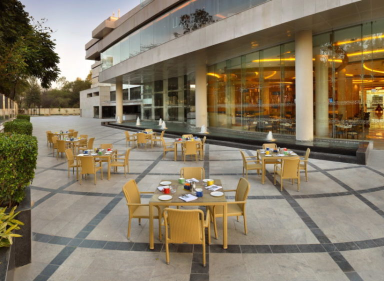 The lalit alfresco