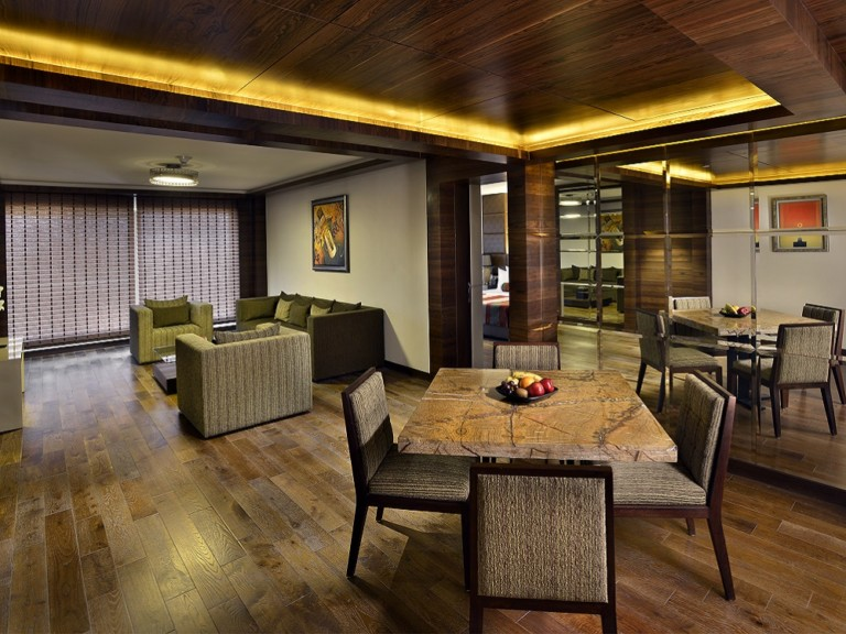 The lalit luxury suite